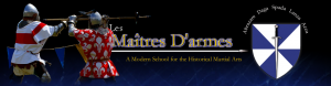 Les Maitres d'Armes - medieval swordplay and historical martial arts in Ottawa